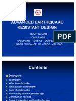 ADVANCED EARTHQUAKE RESISTANT DESIGN