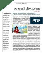 Hidrocarburos Bolivia Informe Semanal Del 07 Al 13 Marzo 2011