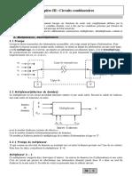 Chapitre 3 Circuits CombinatoiresMux Demux Cod Deco1-2019_2020
