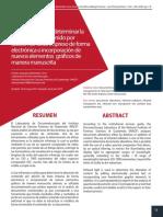Luz infrarroja para determinar la alteración de contenido por adición de texto impreso de forma electrónica o incorporación de nuevos elementos gráficos de manera manuscrita