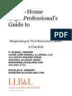 48701659 Industry Inside View of TILA Rescission