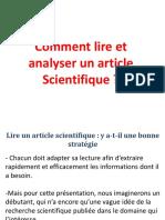 Chapitre 1_Comment lire un article  Scientifique_MR2-TIT_2020-2021