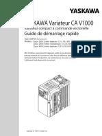 Frekvensomformer V1000 FR
