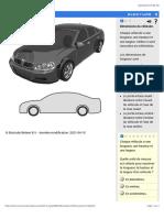 Dimensions d'un véhicule.
