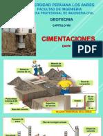 CLASE VIII CIMENTACIONES GEOTECNIA PARTE 1