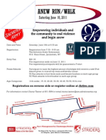 Anew Run-Walk Registration