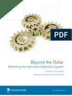 Beyond the Dollar-Chatham House-CFR RIIA