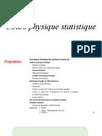 introduction à la phys stati