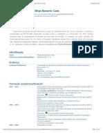 Currículo do Sistema de Currículos Lattes UFRJ (Thiago Rhys Bezerra Cass)
