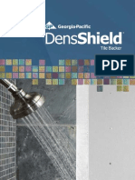 Densshield installation