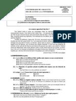 Frances 6 - Examen y criterios de correcci¢n