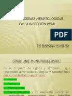 ALTERACIONES HEMATOLÓGICAS EN LA INFECCIÓN VIRAL