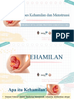 Day 9 Proses Kehamilan Dan Menstruasi