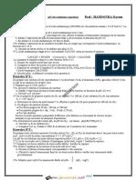 Série d'exercices - Chimie pH des solutions aqueuses -