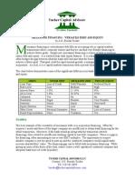 Mezzanine Financing - Versatile Debt and Equity