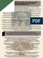 La Teoría de La H y Su Problematización Histórica (1)