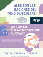 Alteraciones en El Tono Muscular