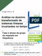 PPTs - Capítulo 5_ Análise No Domínio Transformado de Sistemas Lineares Invariantes No Tempo