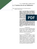Informe Diseño y Construcción de Un Multímetro