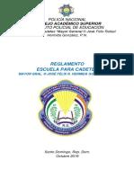 REGLAMENTO ESCUELA PARA CADETES POLICIA NACIONAL DOMINICANA