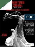 Revista Dramaturgia Corporal 2020