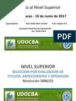 Final Segura- Propuesta Curricular Segun Disp 30 - Nivel Superior