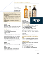 Recipes for Extracts