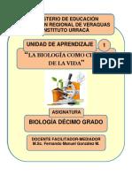 Unidad de Aprendizaje 1_La Biología Como Ciencia de la Vida