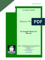 Luxo e Vaidade, de Joaquim Manoel de Macedo