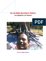 Dr.A.B.Rajib Hazarika's Pattern Recognition on Fusion