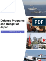 Defense Programs and Budget of Japan