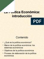 Politica Económica 1- 11102020