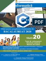 Ghid BAC Informatica 2020