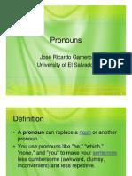 Pronouns 2011