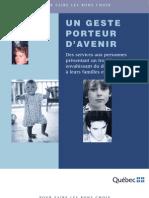 Un geste porteur d'avenir (2003)
