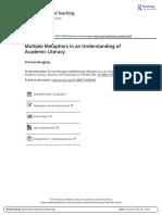 Boughey_Multiple Metaphors in an Understanding of Academic Literacy