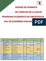 ROL DE EXAMENES 2021  1