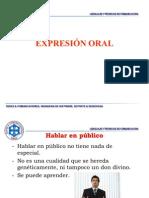 Expresión oral
