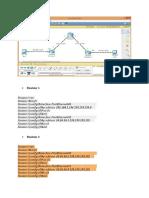 config routeur cisco packet