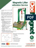 Lifting Magnet Repair Re Certification