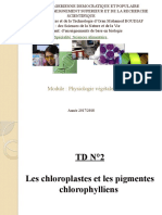 TD N° 2 L2 S.Alimentaire