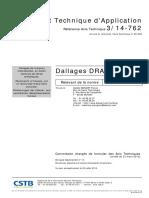 DT 14 762 Dallages FibresMétalliques
