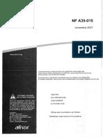 NF A35-015 (Aciers lises)_a