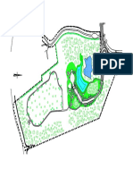 Site Plan With Vegetation