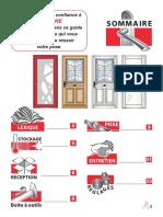Guide de pose portes d'entrée