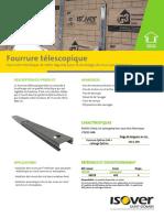 Fourrure Telescopique Optima Isolation Murs Interieur
