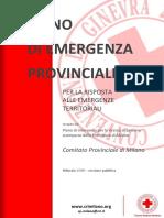 Piano Di Emergenza Provinciale
