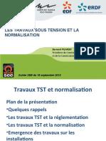 Tst 2012-09-18 Les Travaux Sous Tension Et La Normalisation(1)