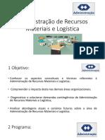 1. Administração de Recursos Materiais e Logística (1)