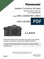 Lumix G80 Base Français